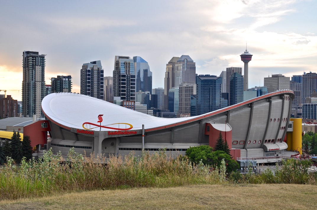 Skyline of Calgary
