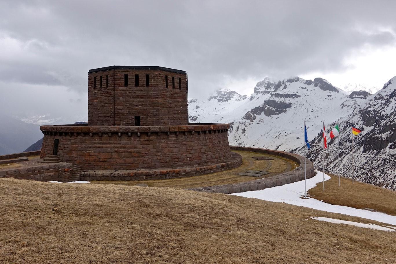 Cimitero militare tedesco del Passo Pordoi