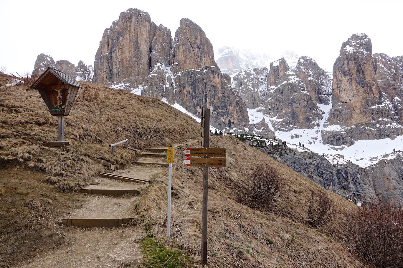 Passo Gardena (Grödner Joch)