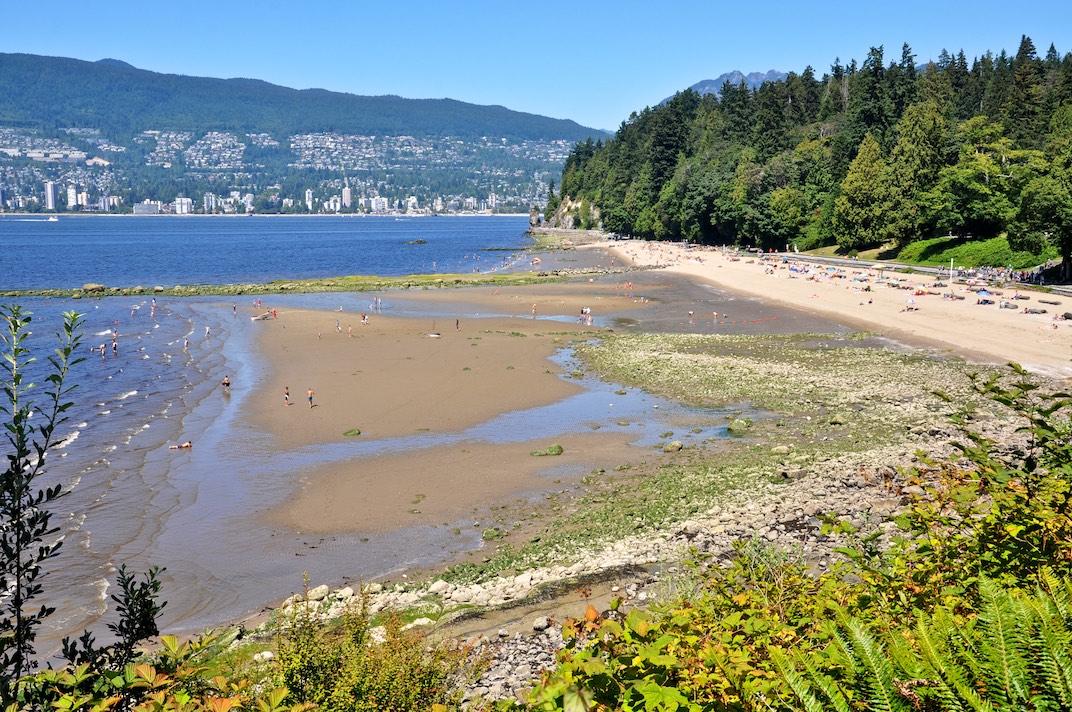Third Beach in Stanley Park