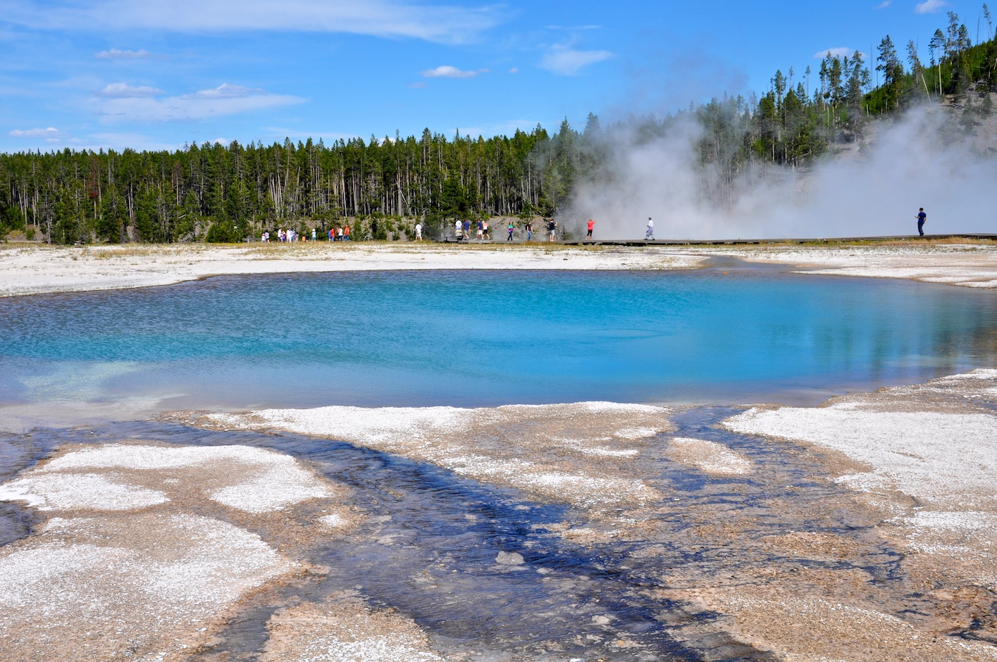 Turquoise Pool, Midway Geyser Basin - Yellowstone National Park