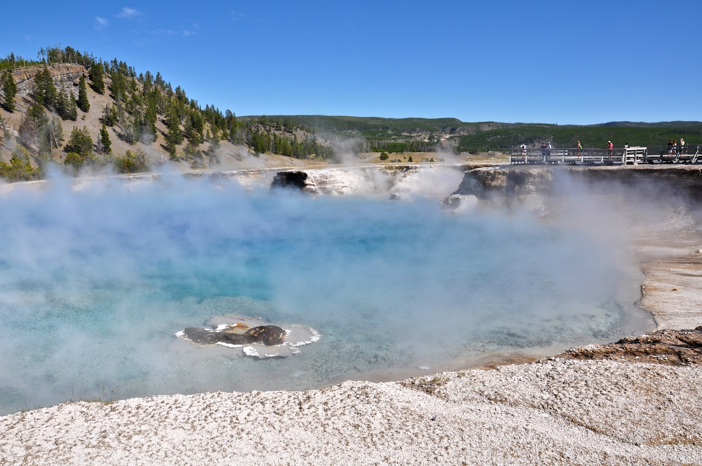 Excelsior Geyser Crater - Yellowstone National Park