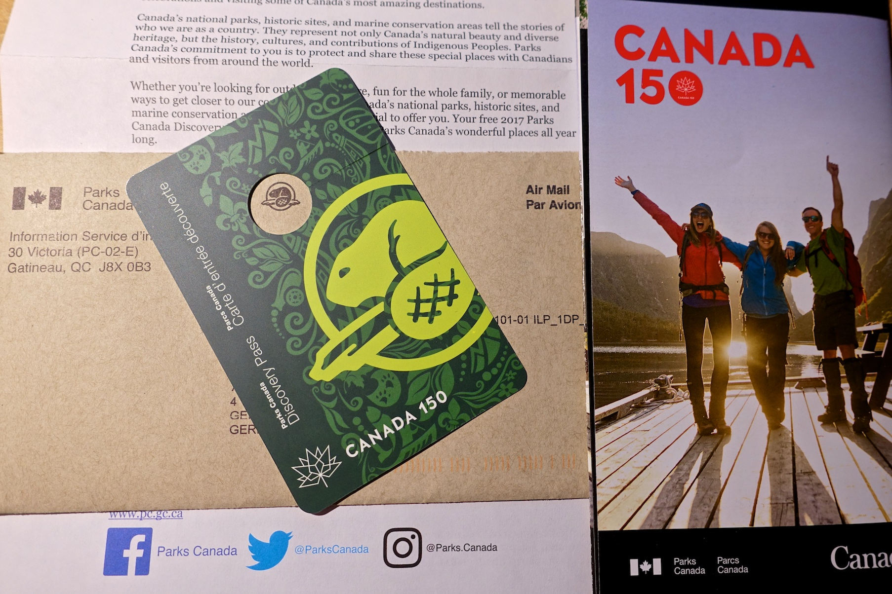 Free Discovery Pass 2017 - Canada