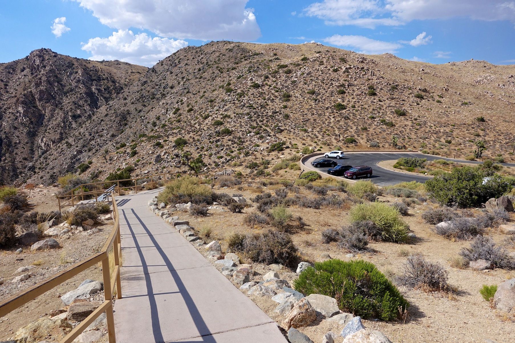 Joshua Tree National Park: Keys View
