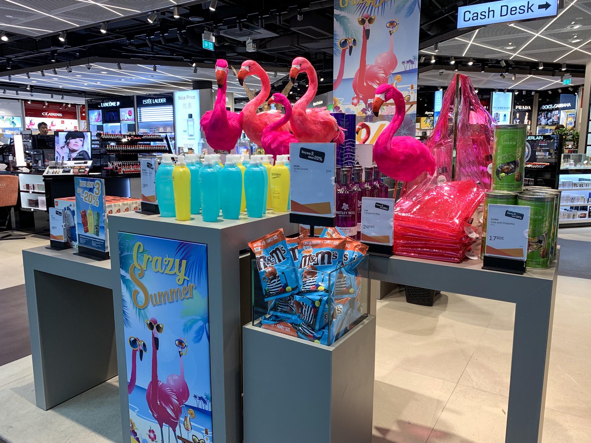 Munich Airport: Shop in Terminal 1