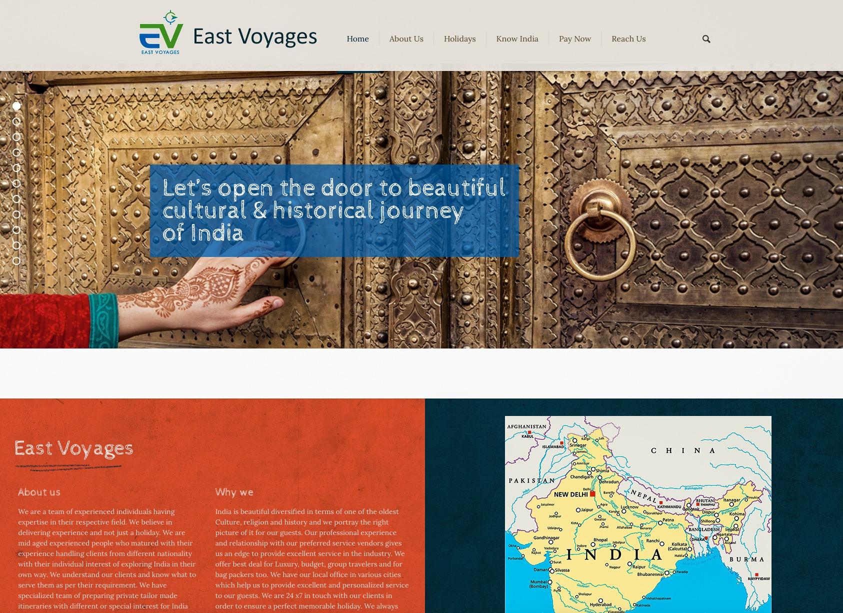 www.eastvoyages.com