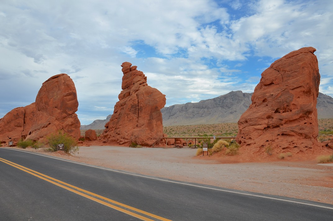 Valley of Fire State Park: Seven Sisters