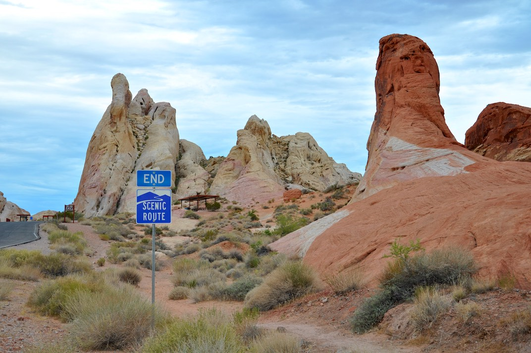 Valley of Fire State Park: White Domes