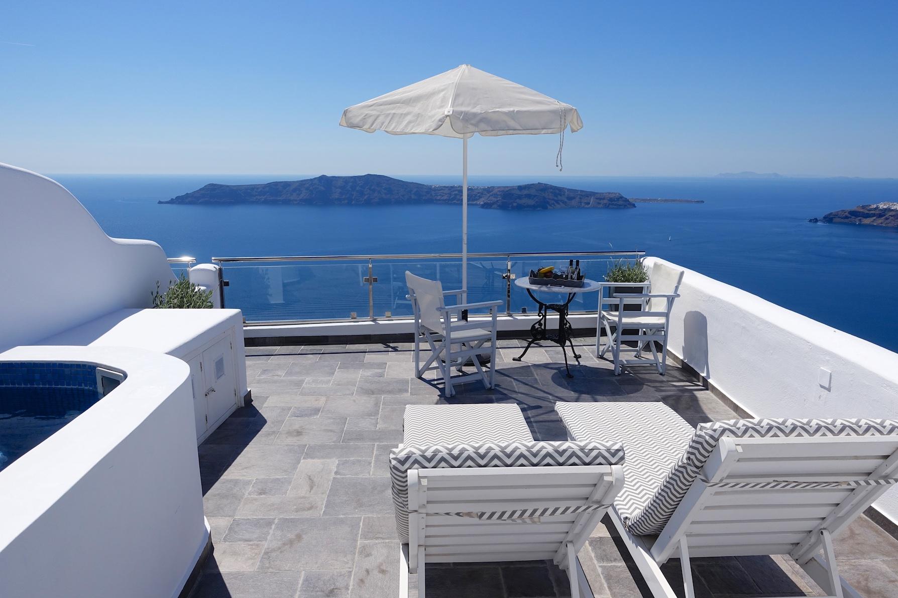 Villa Lukas in Imerovigli - Santorini