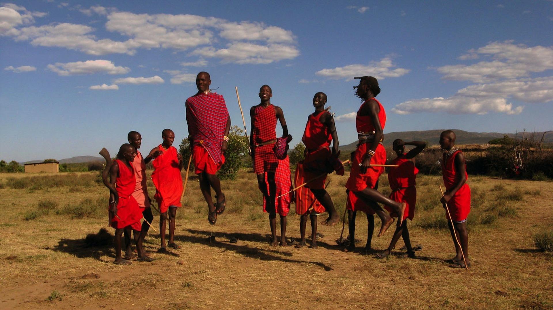 Maasai Warriors, Kenya