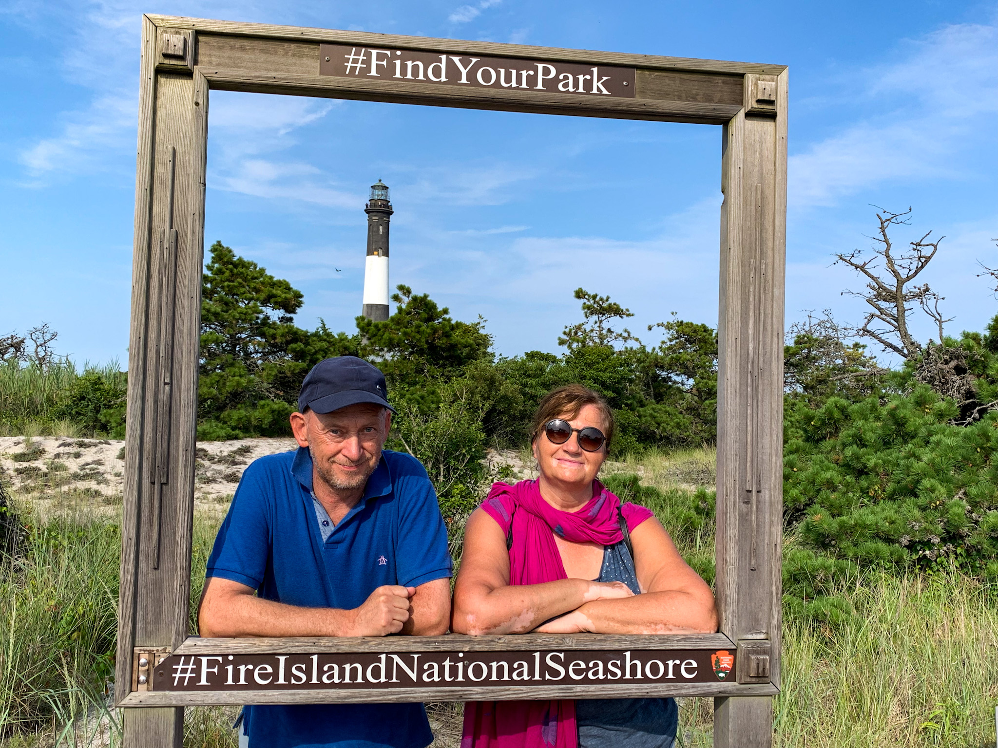 Find nature wherever you are. Fire Island National Seashore, USA.