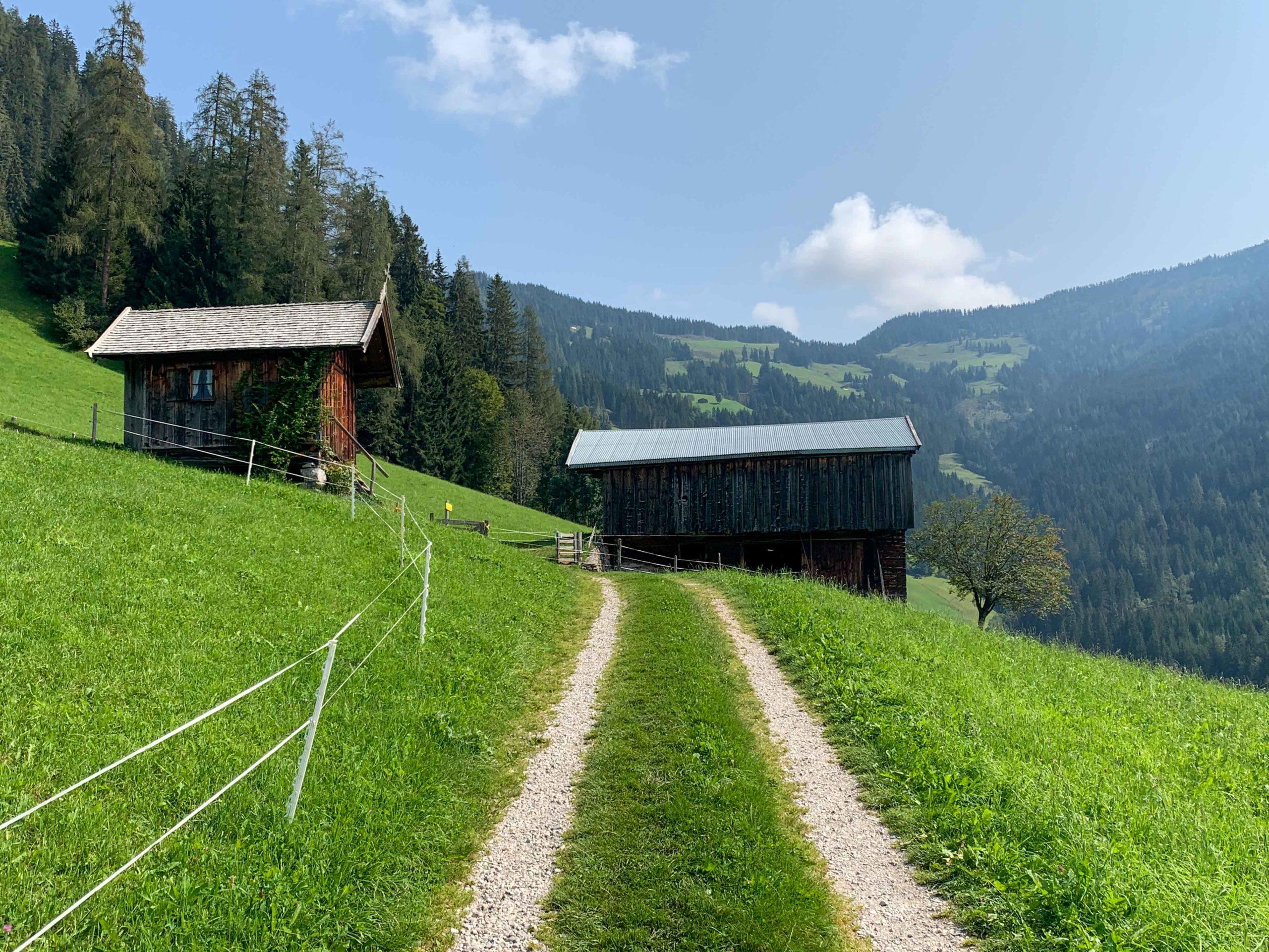 Village Walk in Alpbach