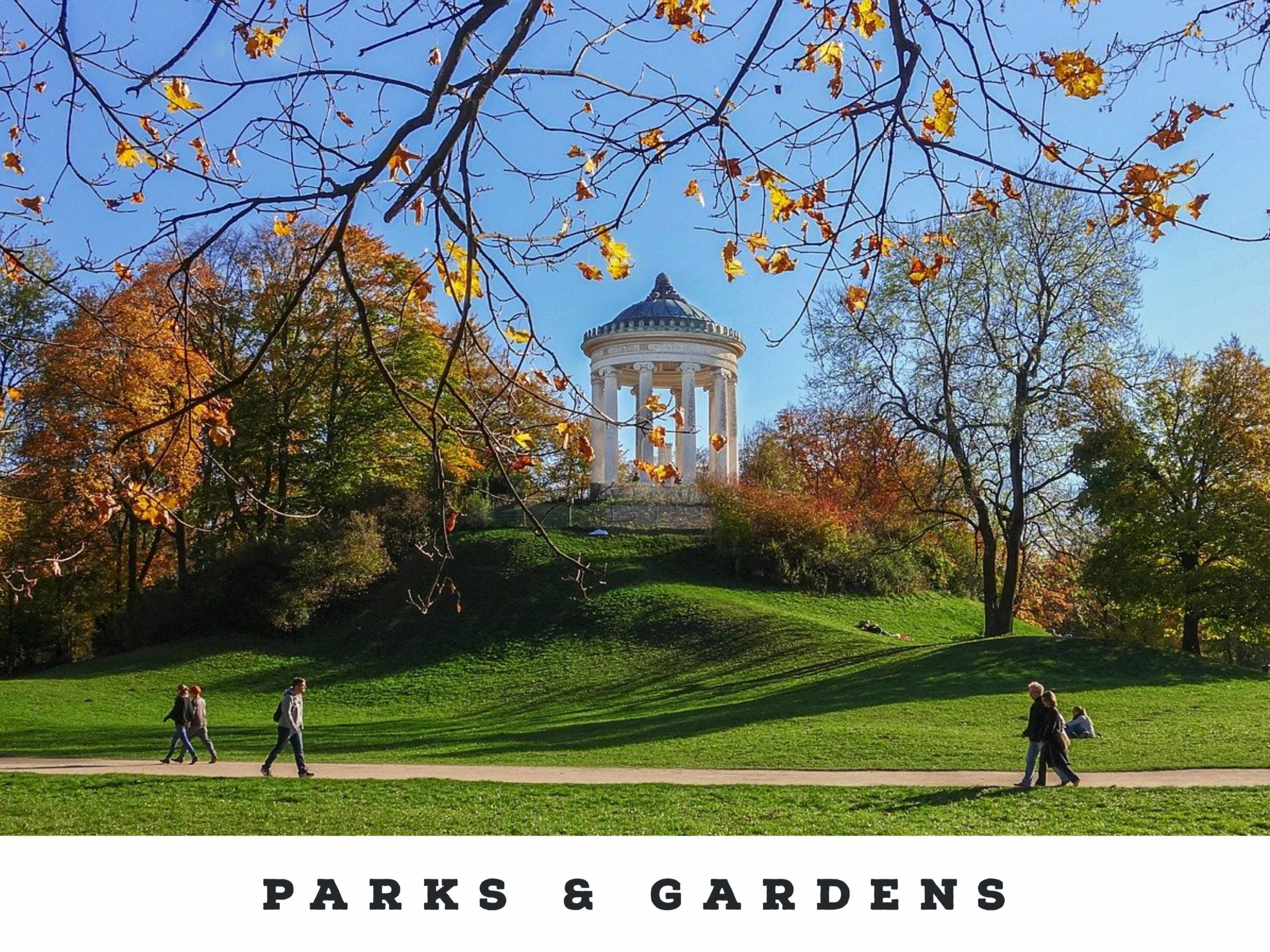 Parks and Gradens Germany