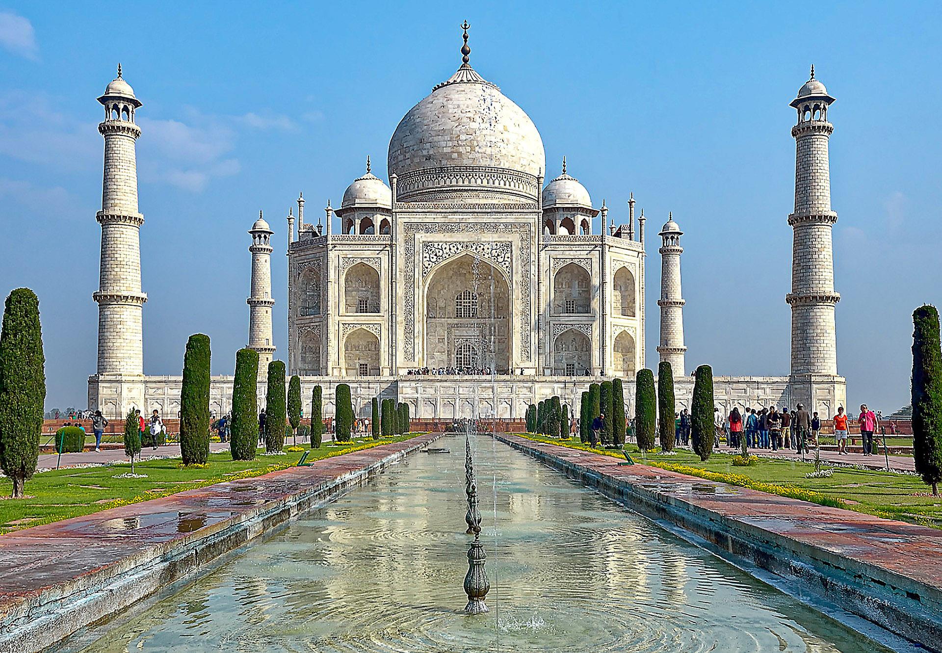 India - Taj Mahal in Agra