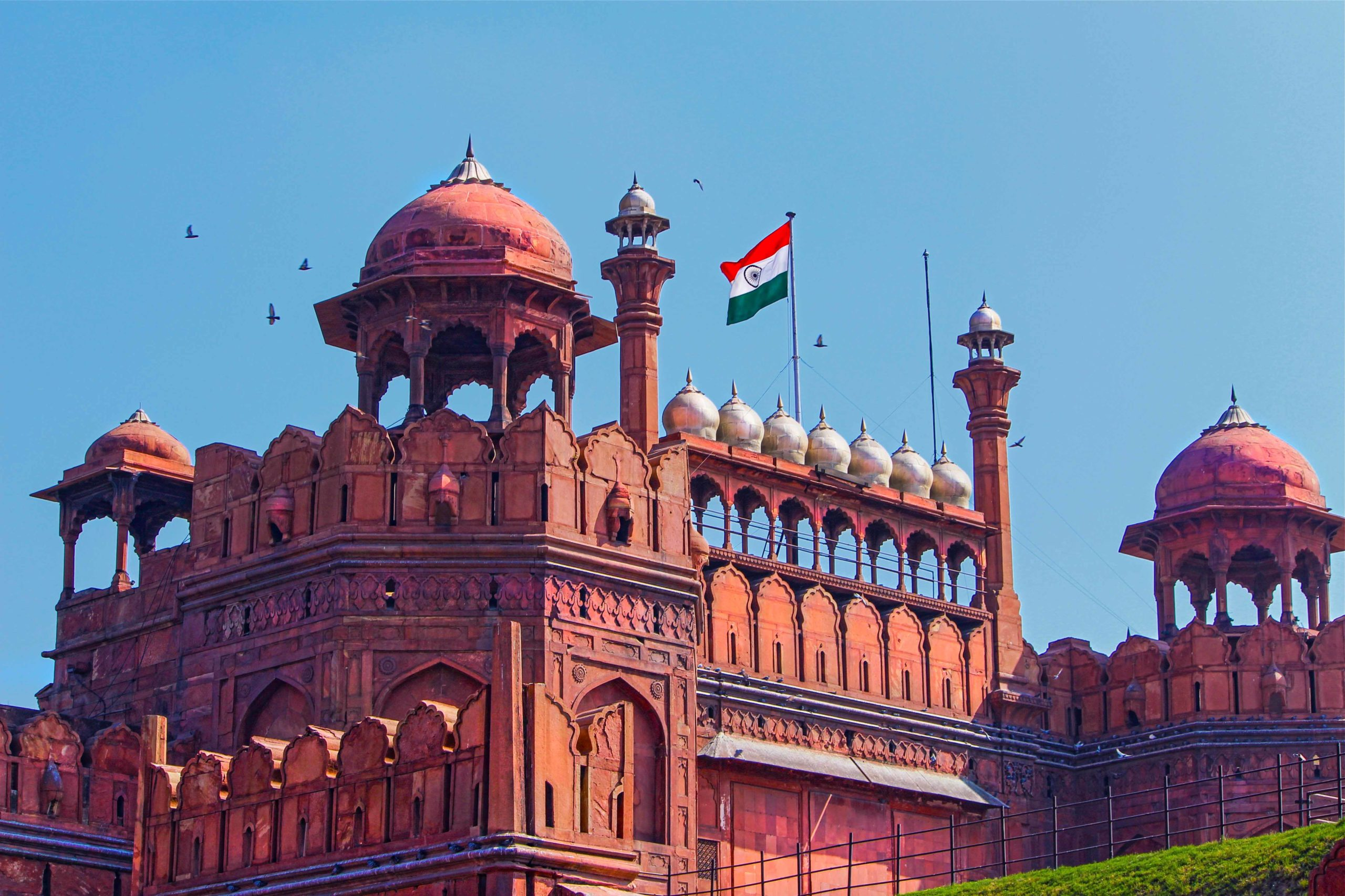 India - Red Fort in Delhi