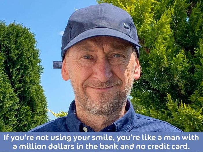 Jens' Smile Quote