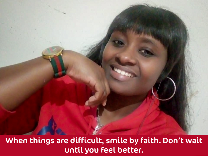 Eunice's Smiling Quote
