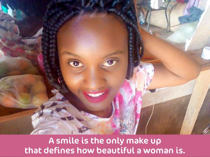 Wincates Smiling Quote