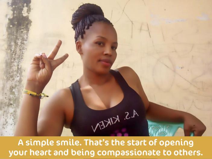 Victorias Smiling Quote