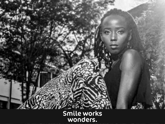 Scolasticas Smiling Quote