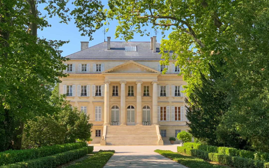Margaux and its beautiful wine castles